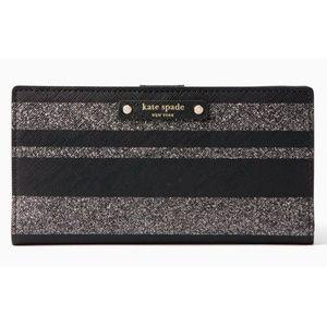 Kate Spade Stacy Haven Lane Stripes Wallet